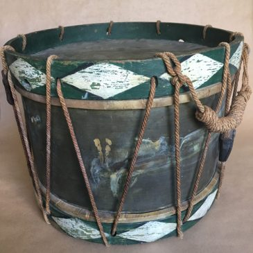 19th Century French Antique Snare Drum
