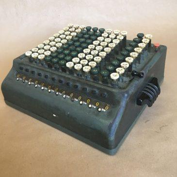 1940's Sumlock Computatator Adding Machine