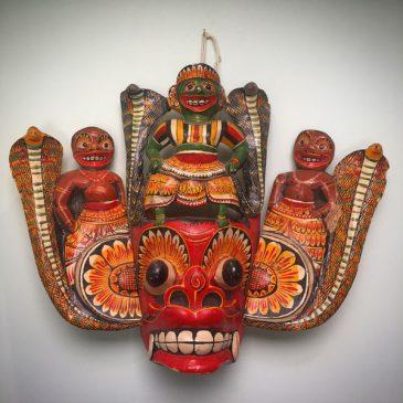 Mid-Century Sri Lankan Ancestor Mask