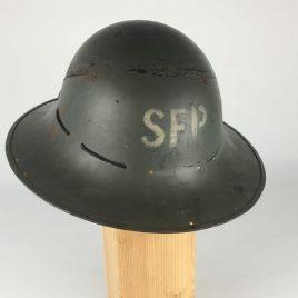 WWII Cilil Defence Zuckerman Helmet M&J Ltd 1941