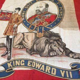 King Edward VII Coronation post Boer War Banner