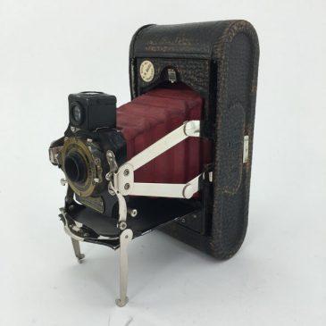 Kodak No.1 Folding Pocket with red bellows