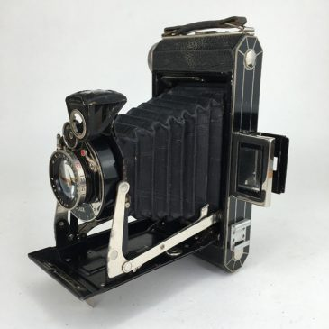 Art Deco Kodak Six-16 Model C folding bellows camera