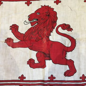 WWI Rampant Lion Flag