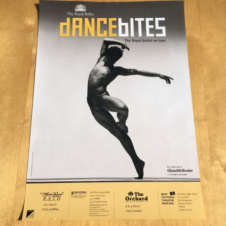 dancebites - The Royal Ballet on Tour - Poster