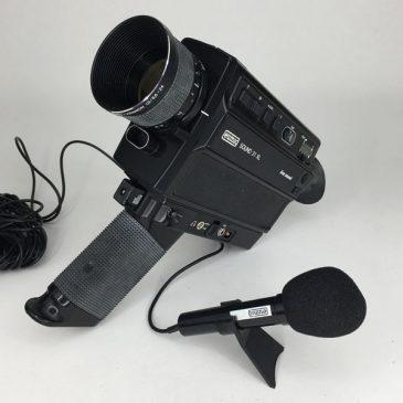 Eumig Sound 31 XL super 8 cine camera with microphone