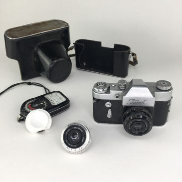 Russian Zenit 3 camera with extra lens and case