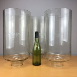 Alfa-Laval milking machine collection jars
