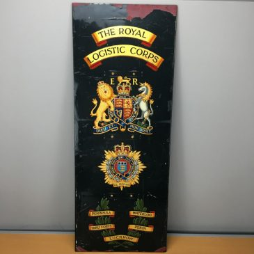 The Royal Logistics Corp - large plaque