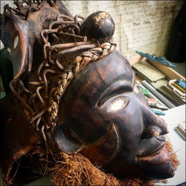 Bakongo tribal mask