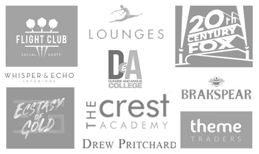 A selection of our clients' logos